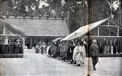 建立当時の昭南神社